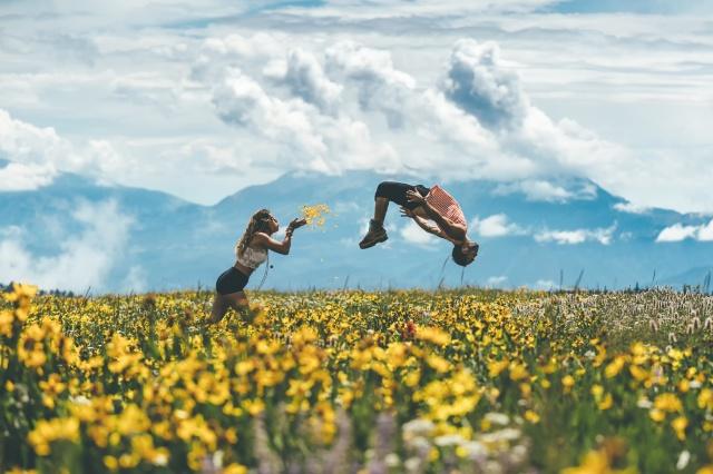 people, photo, nature, flowers, PAIR, beautiful