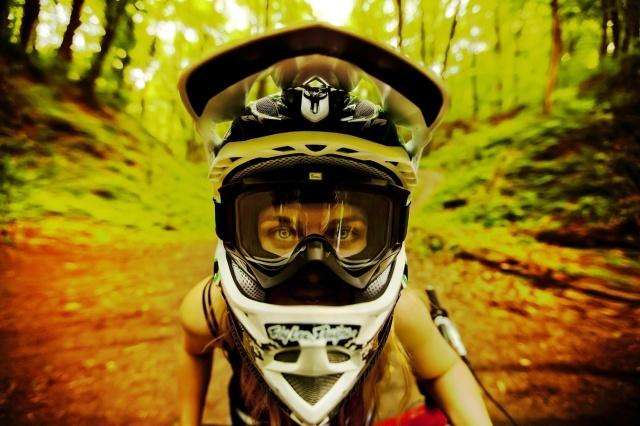 holka, pohled, makro fotografie, les, extreme, dovolená
