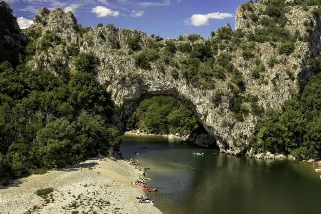 Франція, скеля, природа, люди