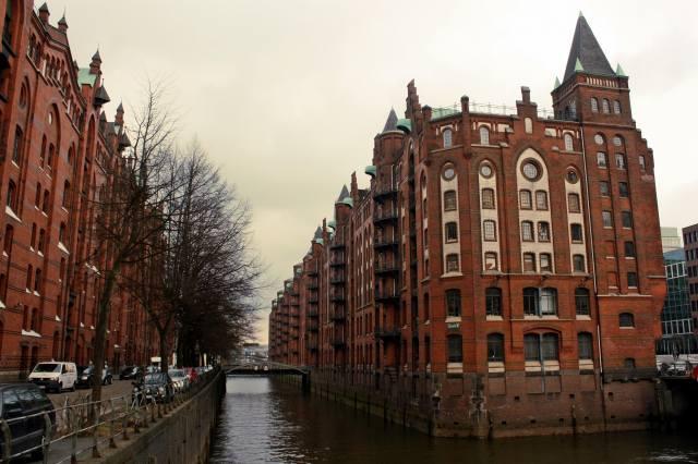 вулиця, канал, будівлі, город. пейзаж