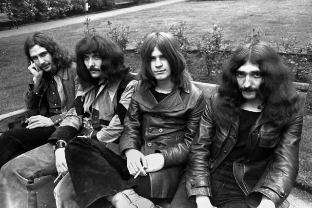 Black Sabbath, Ozzy Osbourne, Geezer Butler, Toni Iommi, Bill Ward, мужчины, музыка