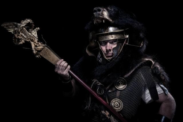 Воин, солдат, Римский, Беркут