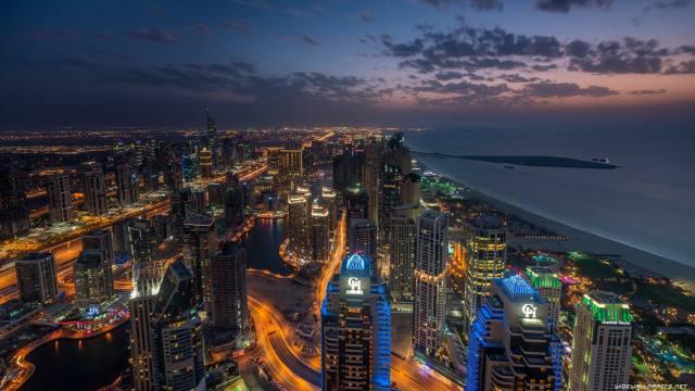 Dubai, 3d, the city