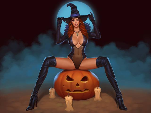 Halloween, art