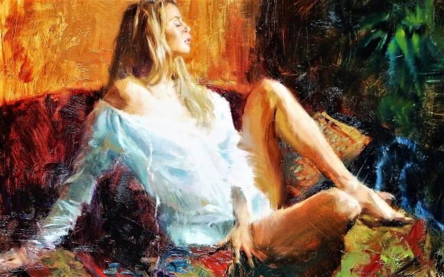 картина, живопис, малюнок, художник, масло
