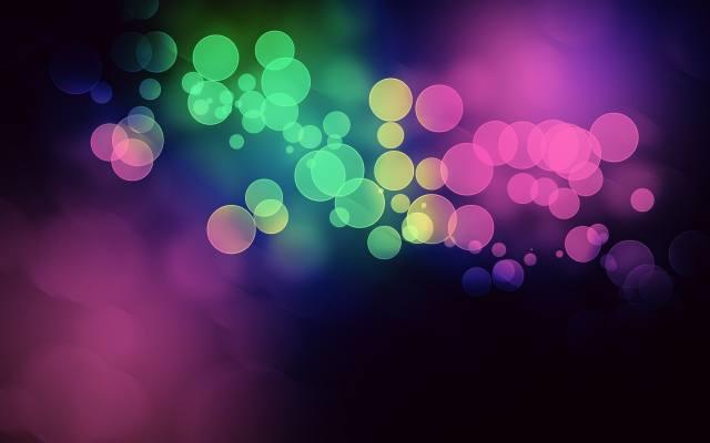 круги, цвет, фиолет, в HD