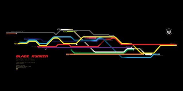 blade runner 2049, линии