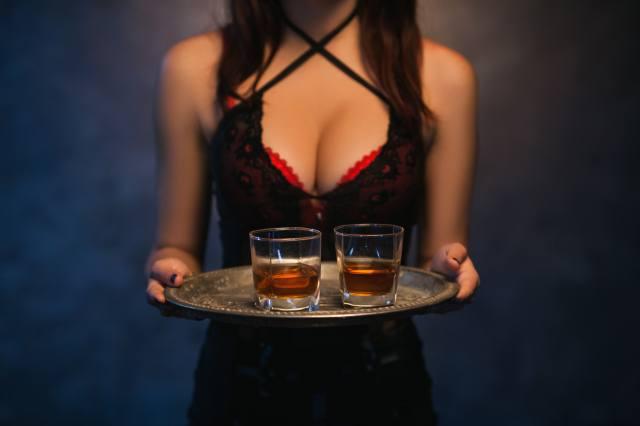 girl, model, Whiskey, whiskey