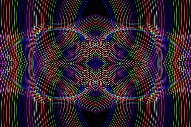 linky, barevné