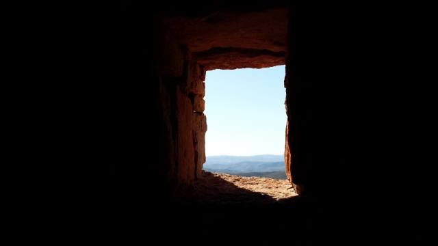 вікно, небо, мінімалізм