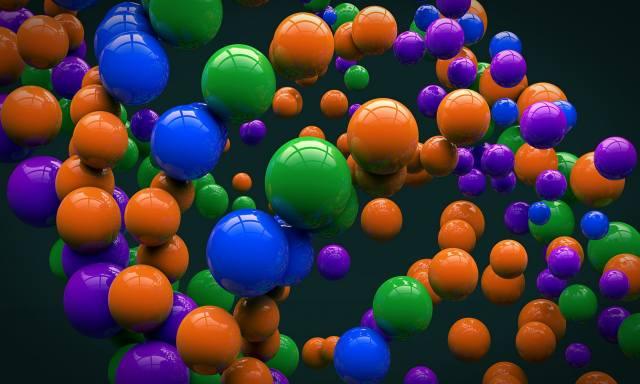 background, balls, color