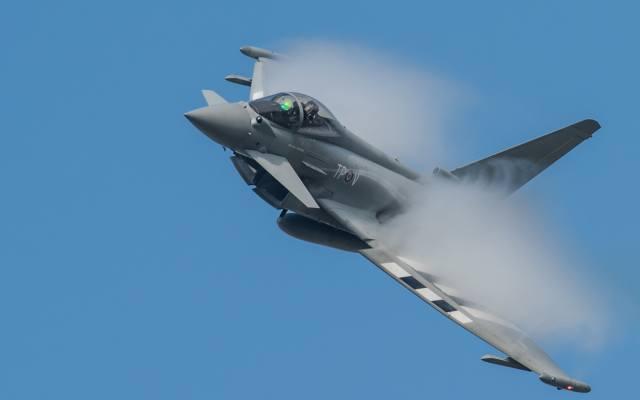 typhoon, eurofighter, Fighter, multipurpose