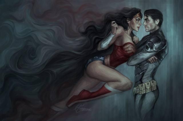 Batman, чудо женщина