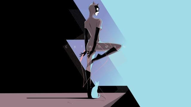 žena-kočka, superhrdina, DC комиксы