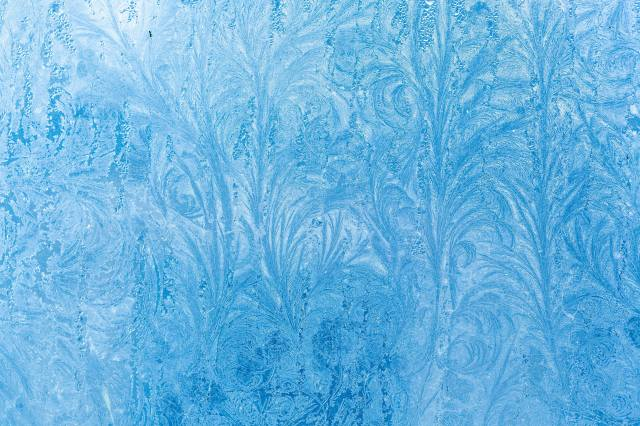 Ледяной узор, Форма цветка, sníh