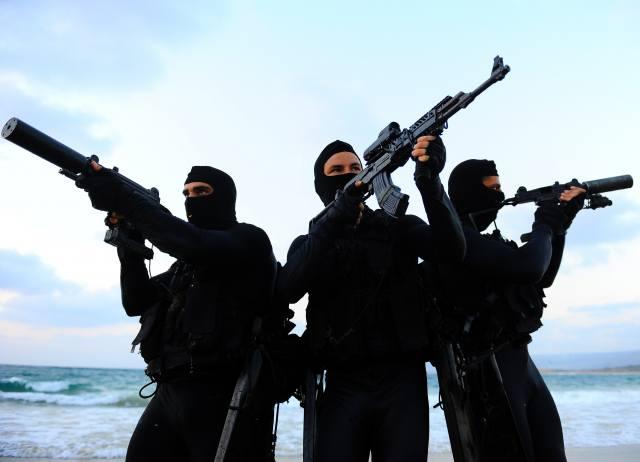 морской, спецназ, Израиль