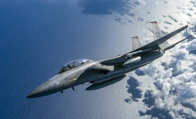 F-15, Fighter, flight, the plane, weapons
