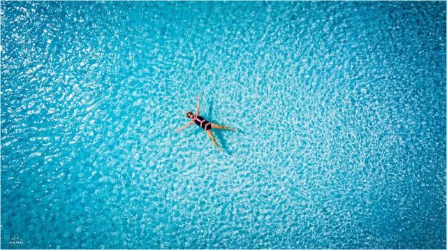 oceán, v tropech
