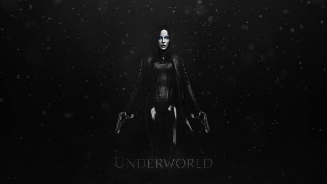 Underworld селективный раскраски Кейт Бекинсейл фильмы простой, фон голубые глаза