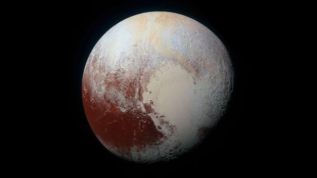 Плутон, planet, space