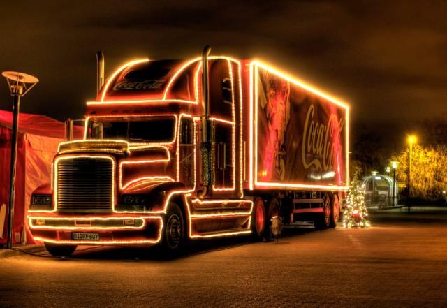 Christmas truck, Auto, holiday