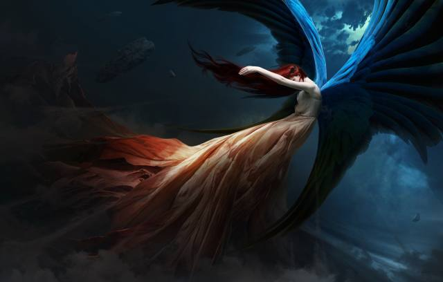 fantasy, character, creative, angel