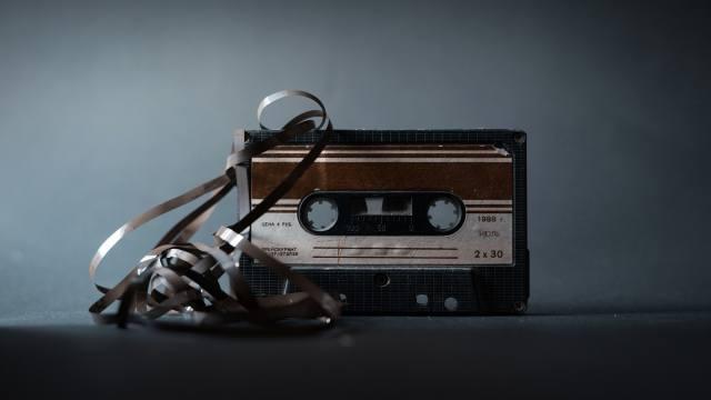 old, cassette