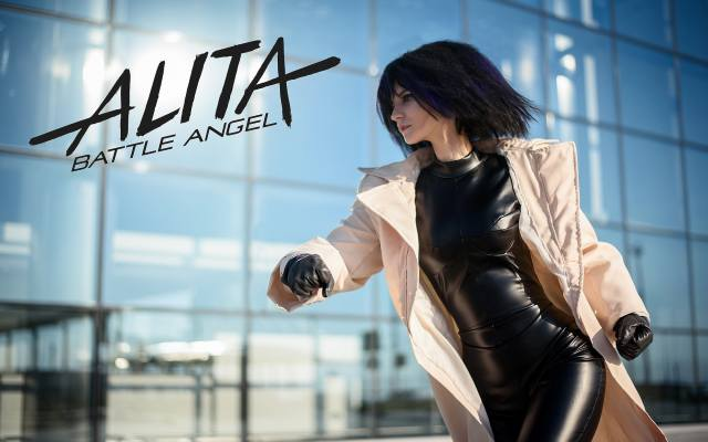 Alita Battle Angel, cosplay, girl