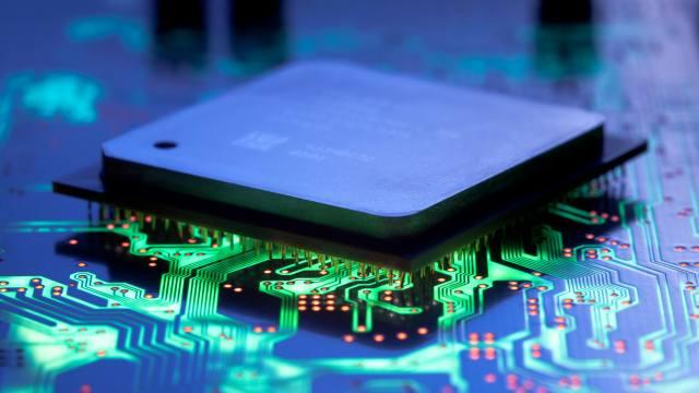 čip, IC, PCB, хай-тек