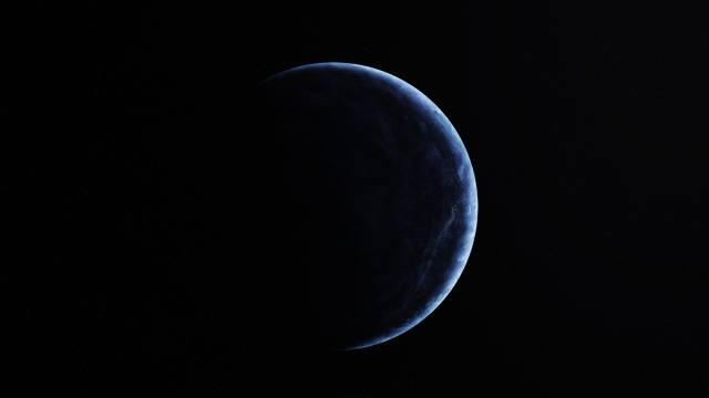 planeta, prostor, hvězdy, vesmír