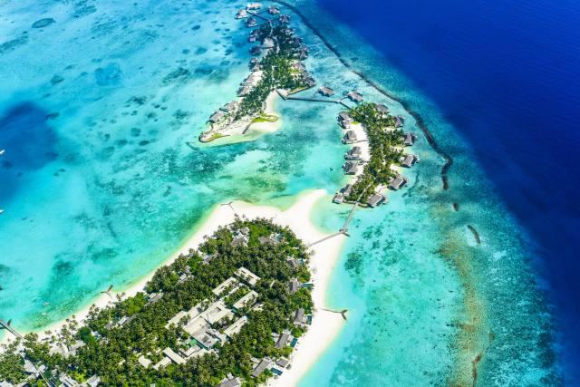 ostrov, oceán, Pohled Shora, pobřeží, ráj, v tropech