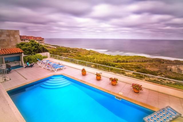 foto, dům a pohodlí, bazén, moře