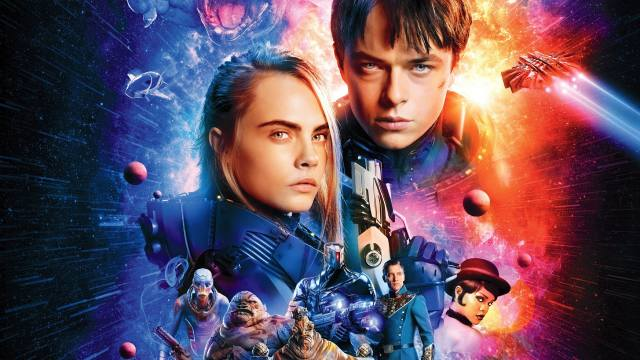 Валериан и город тысячи планет, Valerian and the City of a Thousand Planets, Sci-fi, vesmír