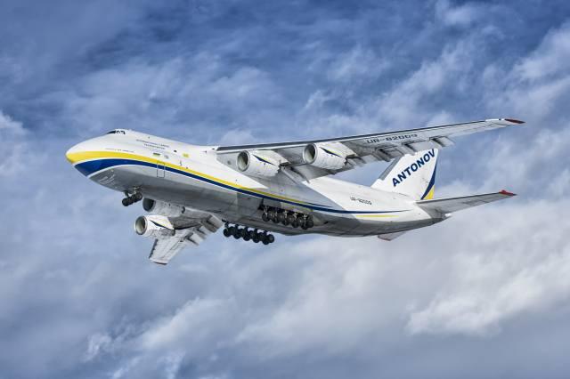 letadlo, let, An-124, Ruslan, Ukrajina