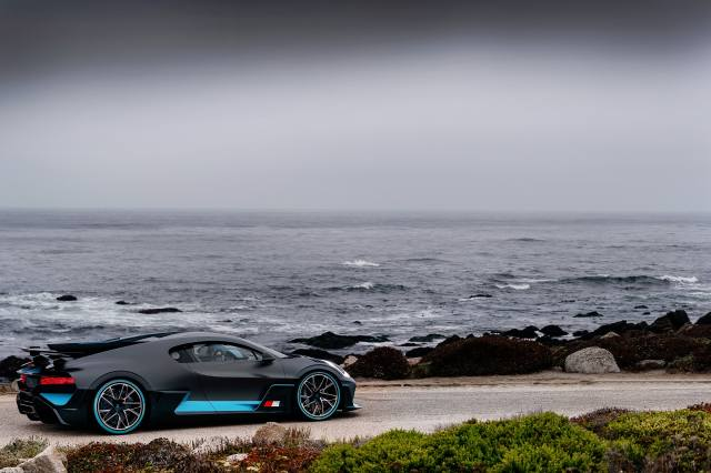 sea, Bugatti, black