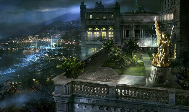 město, dům a pohodlí, Monako