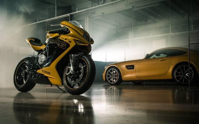 mv agusta, Mercedes Benz, Auto, the bike