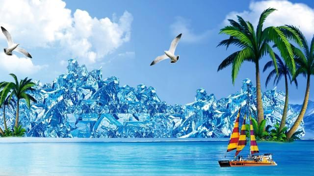 creative, nature, landscape, art, tropics, tropical, resort, sea, sea