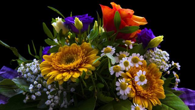 букет, квіти