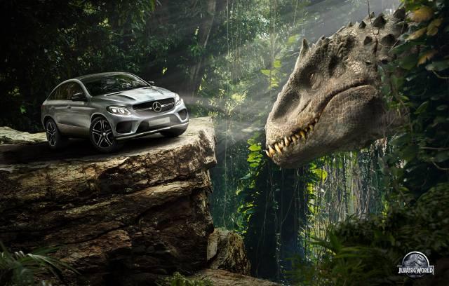 Dinosaur, mercedes-benz, Car, machine