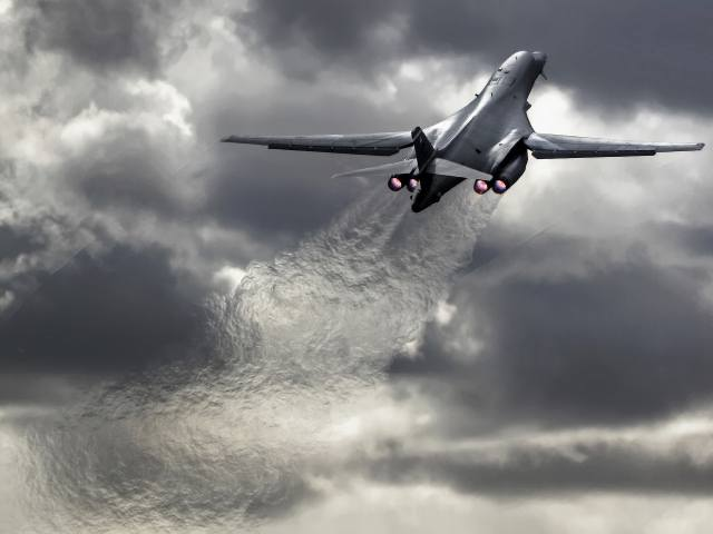 rockwell b-1 lancer, supersonic, strategic