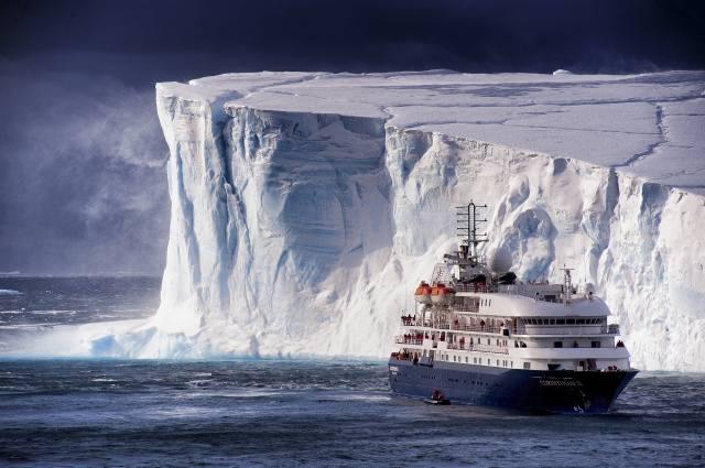 iceberg, ship