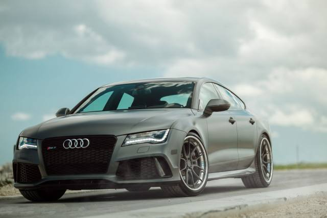 Audi, RS7, car, road