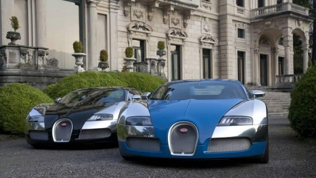 Bugatti, Supercars