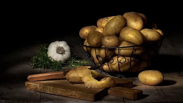 potatoes, vegetables