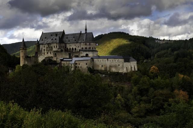 Luxemburg, замок