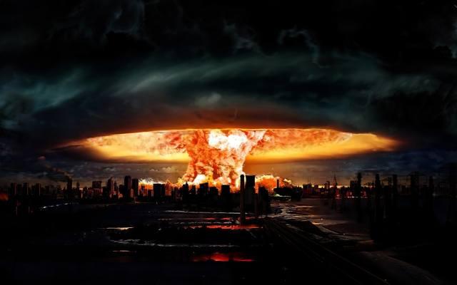 арт, взрыв, ядерный гриб