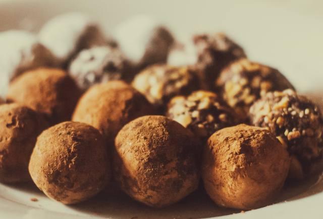 конфеты, шоколад, трюфели