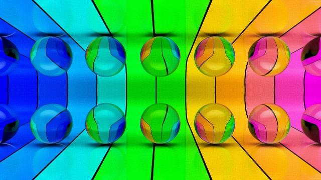 Balls, Bright, Color, Wallpaper