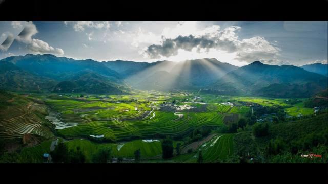 фото пейзаж, kopec, příroda, pole